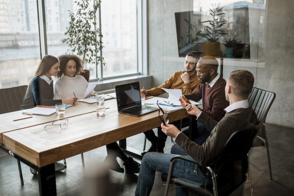 Team Meeting Gründung AssetEnergy