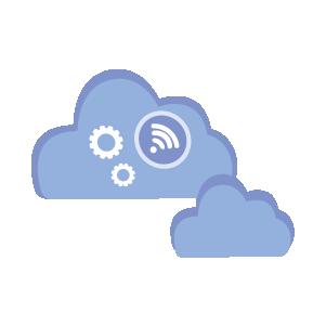 Cloud für die Übertragung der Heizungswerte
