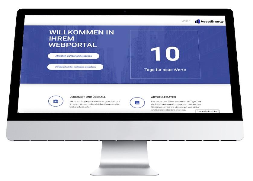 Webportal für Heizkostenerfassung mit Abrechnungsservice im Internet
